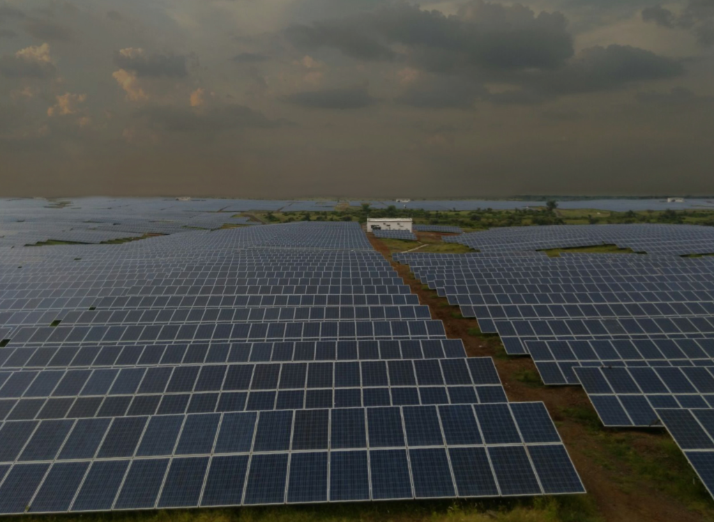 40 MW Ilfs solar power plant at Kachaliya Madhya Pradesh